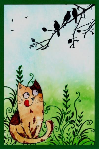 2016-02 Katzen Begleitkarte Mondfloh